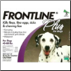 Frontline Plus for Dogs (45-88lbs)
