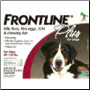 Frontline Plus for Dogs (89-132lbs)