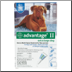 Advantage II for Dogs (Over 55lbs)