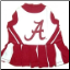 Alabama Crimson Tide Cheerleader Dog Dress