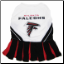 Atlanta Falcons Cheerleader Dog Dress
