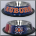 Auburn Tigers Dog Bowl-Stainless Steel