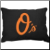 Baltimore Orioles Dog Pillow