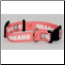 Chicago Bears Pink Dog Collar