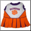 Clemson Tigers Cheerleader Dog Dress