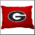 Georgia Bulldogs Dog Pillow