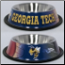 Georgia Tech Dog Bowl-Stainless Steel