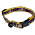 LSU Tigers Dog Collar- Premium