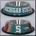 Michigan State Dog Bowl-Stainless Steel