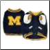 Michigan Wolverines Dog Jacket