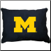 Michigan Wolverines Dog Pillow
