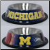 Michigan Wolerines Dog Bowl-Stainless Steel