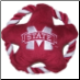 Mississippi State Rope Disk Toy