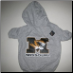 Missouri Tigers Hooded Dog Tee- Gray