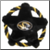 Missouri Tigers Rope Disk Toy