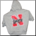 Nebraska Huskers Hooded Dog Tee- Gray