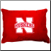 Nebraska Huskers Dog Pillow