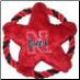 Nebraska Huskers Rope Disk Toy