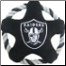 Oakland Raiders Rope Disk Dog Toy