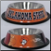 Oklahoma State Dog Bowl-Stainless Steel