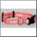 Pittsburgh Steelers Pink Dog Collar