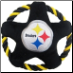 Pittsburgh Steelers Rope Disk Dog Toy