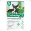Advantage II for Dogs (Under 10lbs)
