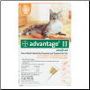 Advantage II for Cats (1 to 9lbs)