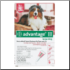 Advantage II for Dogs (21 to 55lbs)