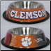 Clemson Tigers Dog Bowl-Stainless Steel