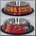 Iowa State Dog Bowl-Stainless Steel