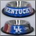 Kentucky Wildcats Dog Bowl-Stainless Steel