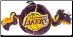 Los Angeles Lakers Basketball Toy