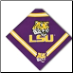 LSU Tigers Bandana - Purple