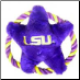 LSU Tigers  Rope Disk Toy