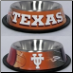 Texas Longhorns Dog Bowl-Stainless Steel