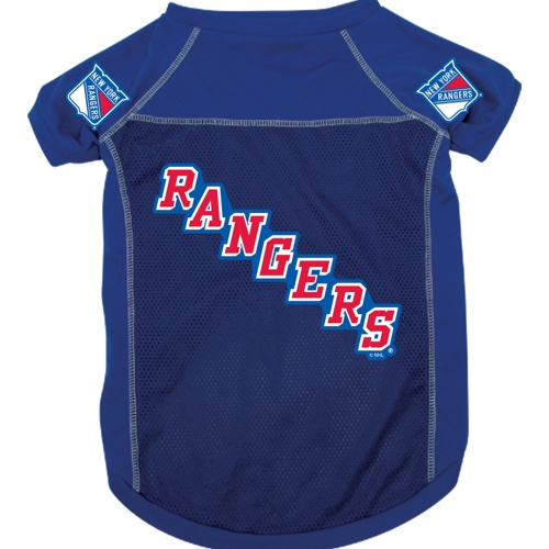 new product 04cd7 b75ed New York Rangers Pet Jersey
