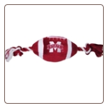 Mississippi State Plush Football Toy