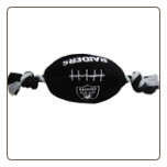 Oakland Raiders Plush Football