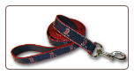 Boston Red Sox Reflective Leash