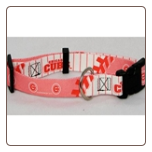 Chicago Cubs Dog Collar - Pink