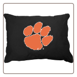 Clemson Tigers Dog Pillow
