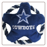 Dallas Cowboys Rope Disk Dog Toy