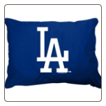 Los Angeles Dodgers Dog Pillow