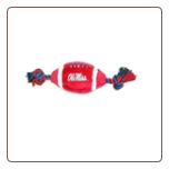Mississippi Rebels Plush Football Toy