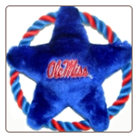 Mississippi Rebels Rope Disk Toy