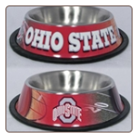 Ohio State Dog Bowl-Stainless Steel