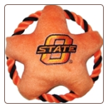 Oklahoma State Rope Disk Toy