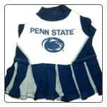 Penn State Cheerleader Dog Dress